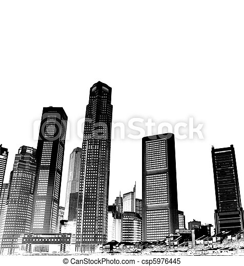 cityscape - csp5976445
