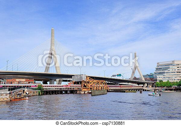 Boston Cityscape - csp7130881