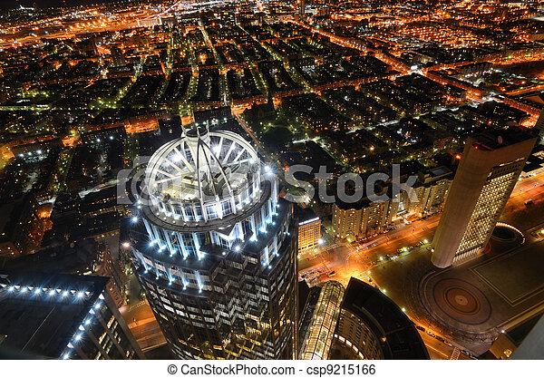 Back Bay Boston Cityscape - csp9215166