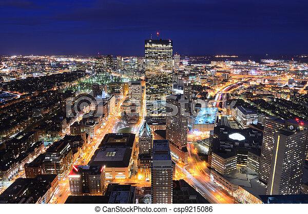 cityscape, boston - csp9215086