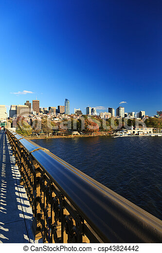 cityscape, boston - csp43824442