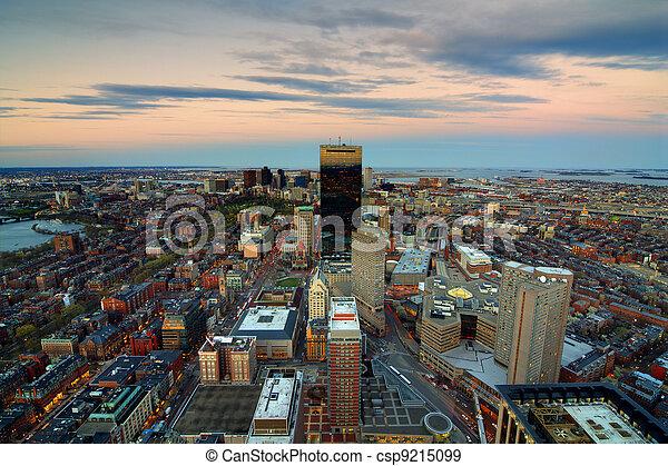 cityscape, boston - csp9215099