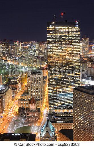 cityscape, boston - csp9278203