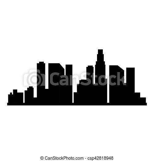 cityscape buildings isolated icon vector illustration design rh canstockphoto com cityscape vector icon cityscape vector free