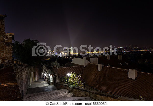 Cityscape by night - csp16659052