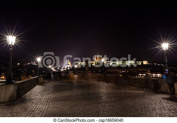 Cityscape by night - csp16659040