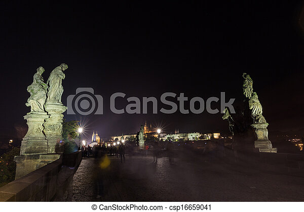 Cityscape by night - csp16659041