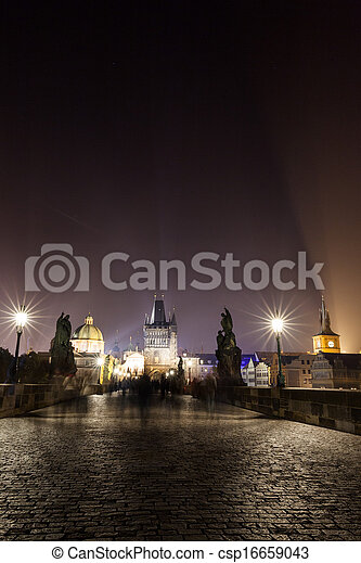 Cityscape by night - csp16659043