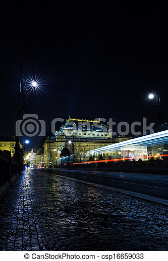 Cityscape by night - csp16659033