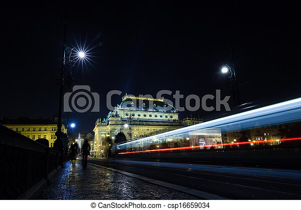 Cityscape by night - csp16659034