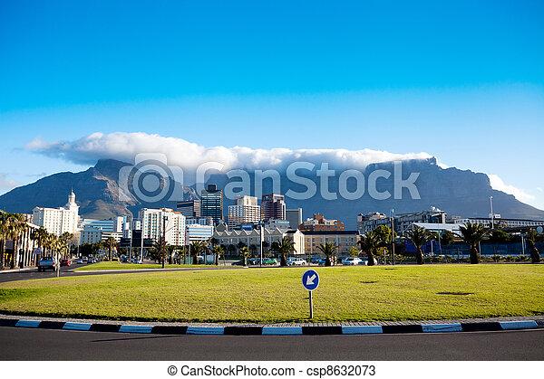 cityscape, cap, afrique, ville, sud - csp8632073