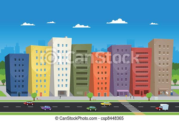 cityscape - csp8448365