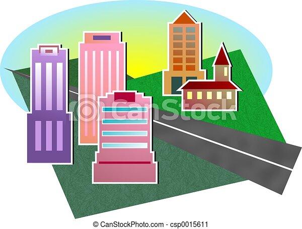 Cityscape - csp0015611