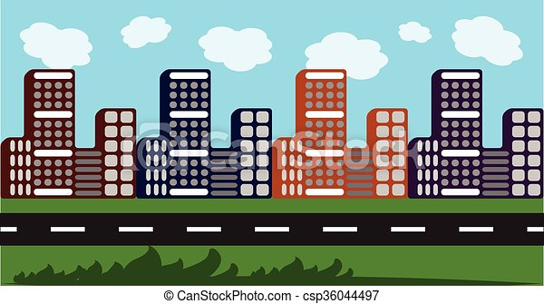 Cityscape - csp36044497