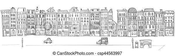 cityscape. - csp44563997