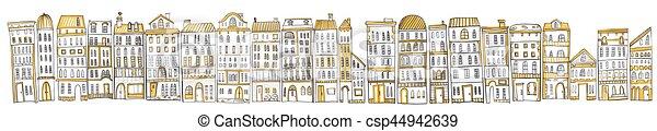 cityscape. - csp44942639