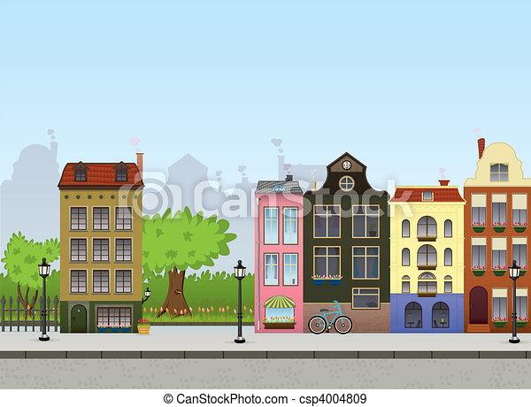 cityscape, europeu - csp4004809