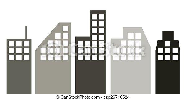 cityscape. - csp26716524