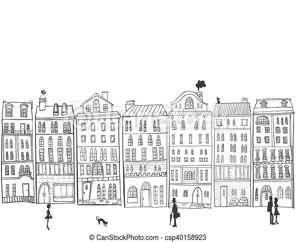 cityscape. - csp40158923