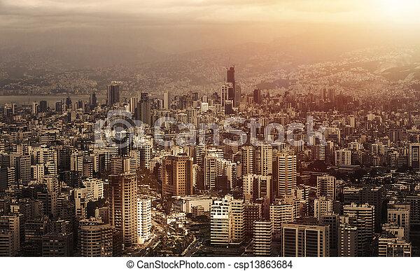 cityscape - csp13863684
