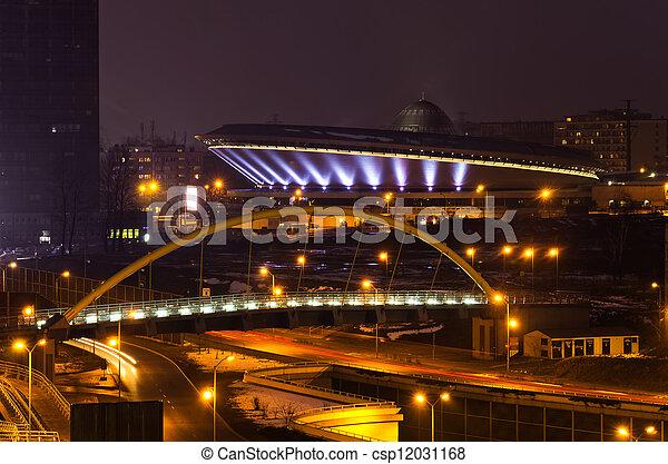 Cityscape, Katowice, Poland - csp12031168