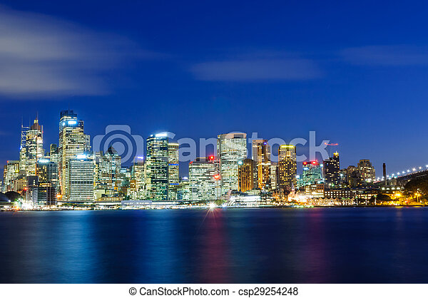 cityscape, sydney - csp29254248