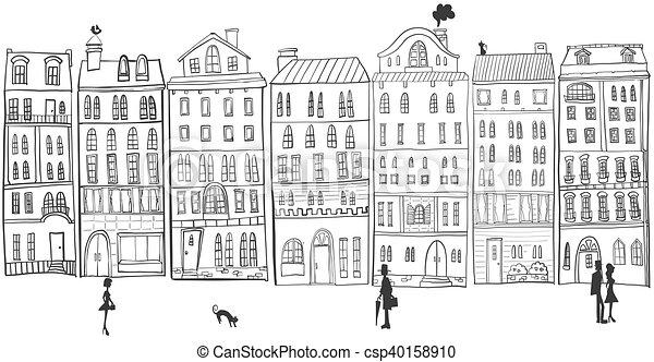 cityscape. - csp40158910