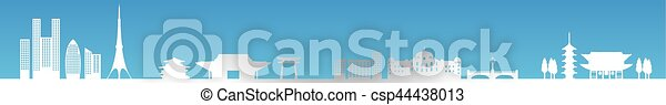cityscape. - csp44438013