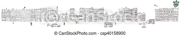 cityscape. - csp40158900