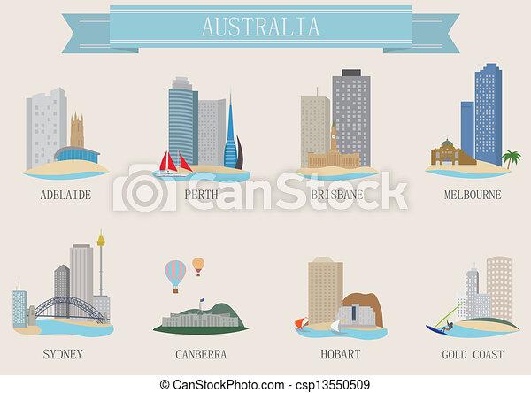 El símbolo de la ciudad. Australia - csp13550509