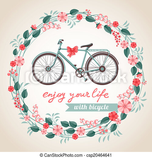 Bicicleta de la ciudad - csp20464641