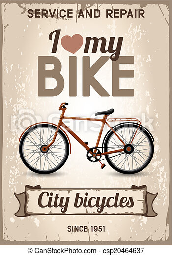 Bicicleta de la ciudad - csp20464637