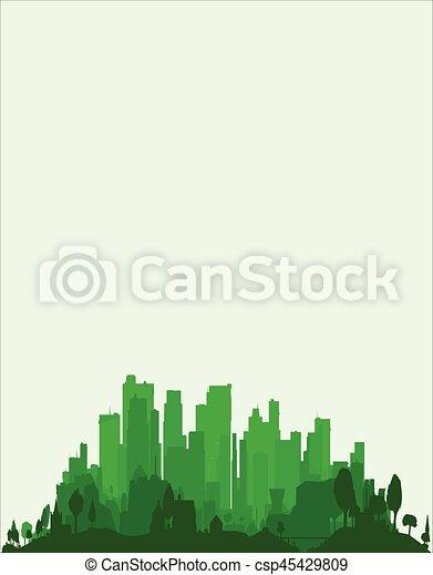 Green City Edge - csp45429809