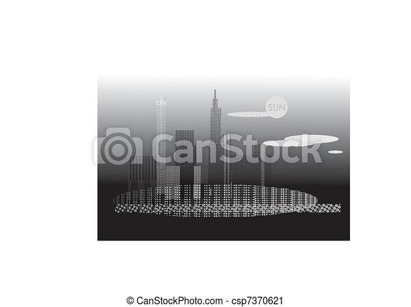 Ciudad - csp7370621