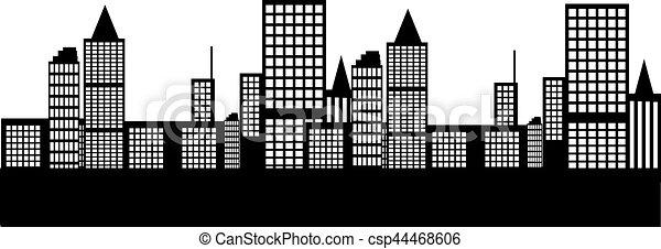 Ciudad - csp44468606