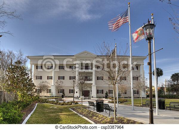 Al ayuntamiento en Florida - csp3387964