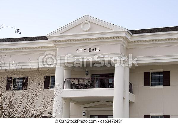 Al ayuntamiento en Florida - csp3472431