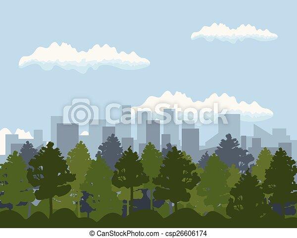 Ciudad - csp26606174