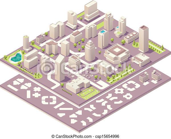 Kit de creación de mapas isométricos - csp15654996
