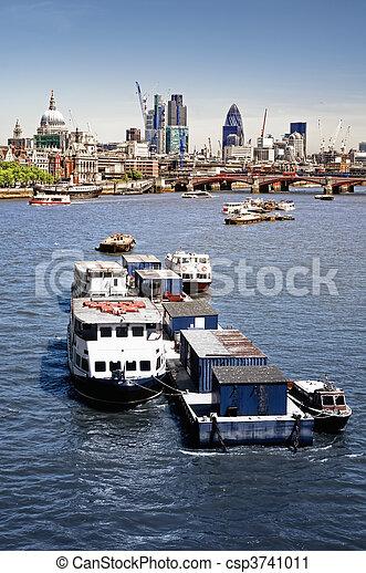 Ciudad de Londres. - csp3741011