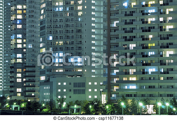 Ciudad moderna - csp11677138