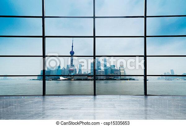 Ciudad moderna - csp15335653