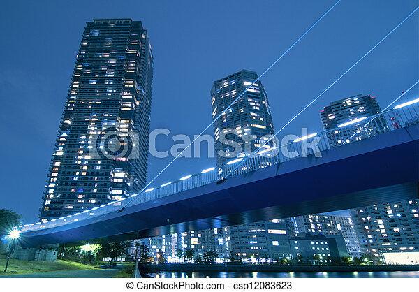 Ciudad moderna - csp12083623