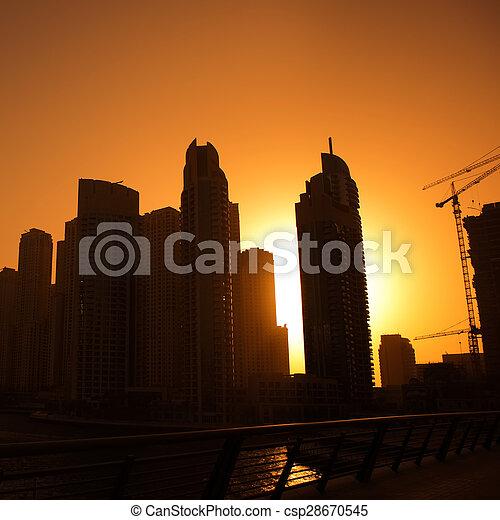 Ciudad moderna - csp28670545