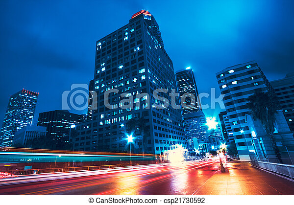 Ciudad moderna - csp21730592