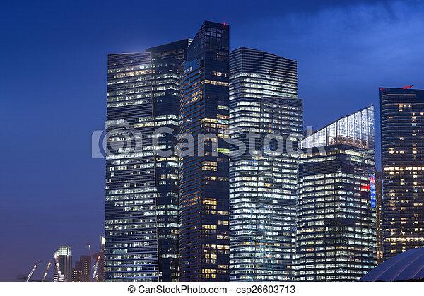 Ciudad moderna - csp26603713
