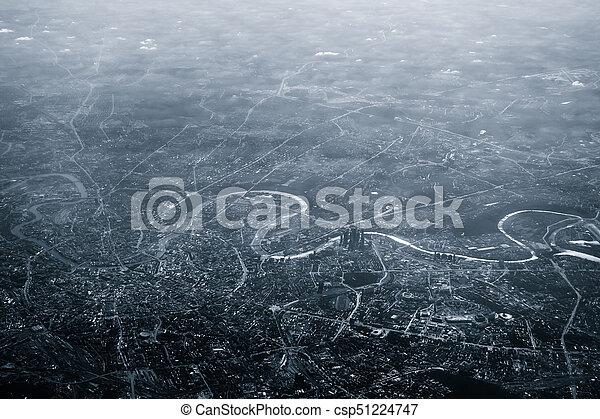 Vista aérea de Moscú - csp51224747
