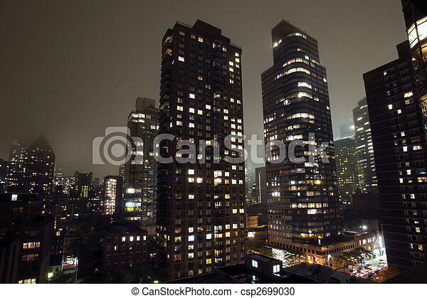 Ciudad de Nueva York - csp2699030