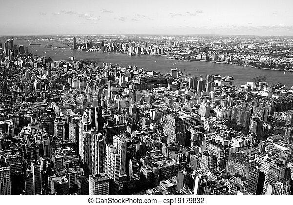ciudad nueva york - csp19179832