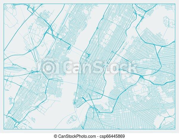 Ciudad de Nueva York - csp66445869